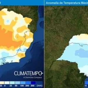 Região Sudeste: tendência do clima para a primavera 2020