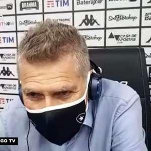 """BOTAFOGO: Paulo Auturori lamenta saídas de atletas e reclama: """"Os jogadores saem e não temos possibilidade de reposição"""""""