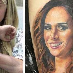 Marido homenageia Hilary Duff tatuando nome da atriz no ...