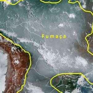 Fumaça das queimadas no Pantanal chega em países vizinhos