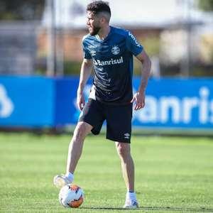 Em busca de recuperação, Grêmio inicia preparação para enfrentar o Inter pela Libertadores