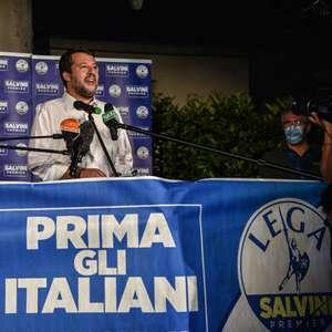 Salvini comemora avanço da direita nas eleições regionais