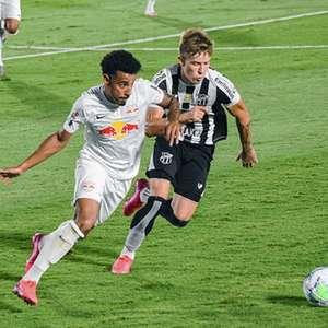 Goleada contra o Ceará quebrou marca negativa do Bragantino como mandante