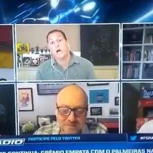 Benja e Facincani discutem ao vivo no Fox Sports: 'Não ...