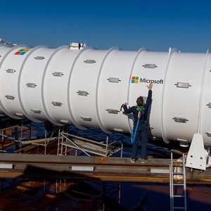 Microsoft recupera Datacentre afundado do Projeto Natick