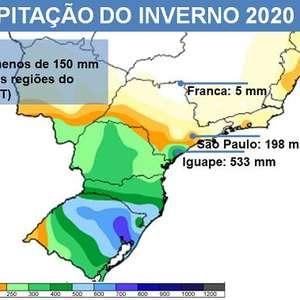 São Paulo teve inverno com chuva e temperatura acima da ...