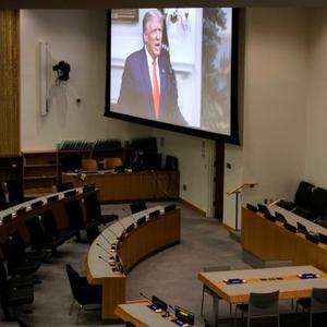 Os ataques de Trump à China em discurso na ONU