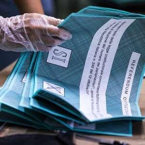 Redução do Parlamento da Itália é aprovada com 70% dos votos