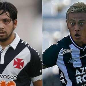 Benítez e Honda: o duelo dos gringos que fazem Vasco e ...