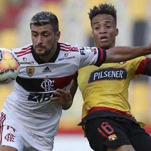 Arrascaeta destaca vitória do Flamengo no Equador: ...