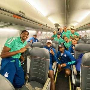 De volta ao Rio, grupo do Flamengo é recepcionado por ...