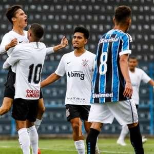 Corinthians vence o Grêmio na estreia do Brasileirão sub-20