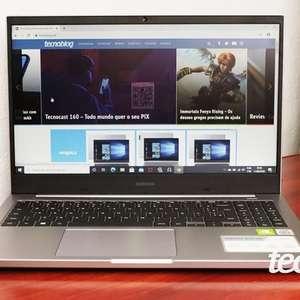 Notebook Samsung Book X45: bonito e equilibrado (ou quase)