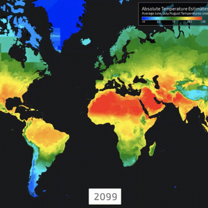Os mapas que mostram o impacto do aquecimento global no ...