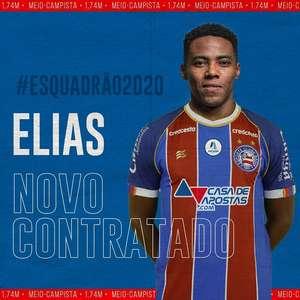 Bahia 'fura' Santos e anuncia Elias, ex-Corinthians