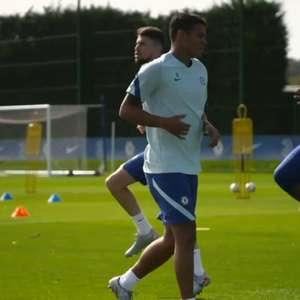 Lampard não esconde encanto com chegada de Thiago Silva ...