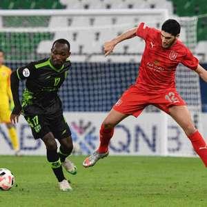 Time de Dudu, Al Duhail é derrotado em casa com gol no ...