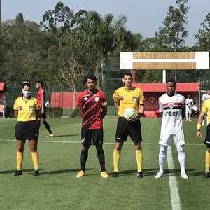 Em jogo equilibrado, São Paulo supera Athletico na estreia do Brasileiro Sub-20