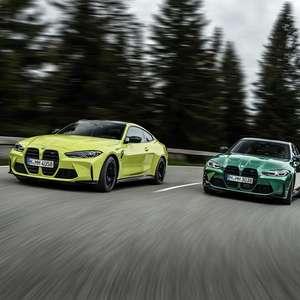 BMW resgata condução esportiva clássica com os novos M3 e M4