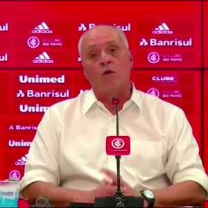 """INTERNACIONAL: Presidente anuncia desligamento de VP de Futebol: """"só posso agradecer o trabalho realizado"""""""