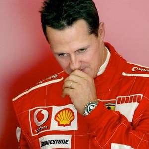 """Ex-esposa de Briatore diz que Schumacher """"não fala e só ..."""