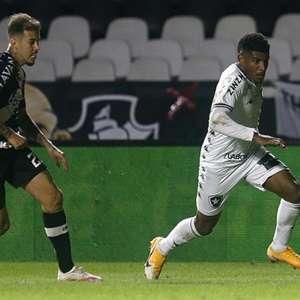 Rhuan desfalcará o Botafogo contra o Atlético-GO por ...