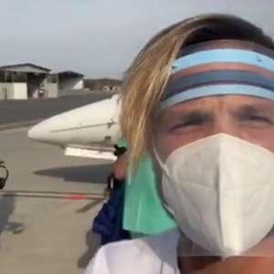 Diego publica vídeo de bastidores do Equador, ...
