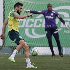 Palmeiras se reapresenta com volta de Patrick de Paula