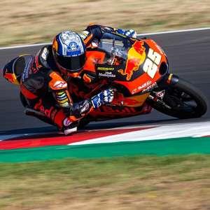 Fernández lidera primeiro dia de treinos livres da Moto3 ...