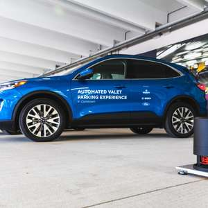 Ford e Bosch mostram tecnologia de manobrista automatizado