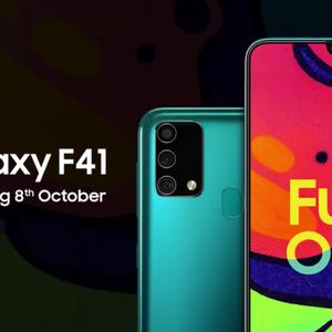 Samsung mostra Galaxy F41 em vídeo antes do lançamento