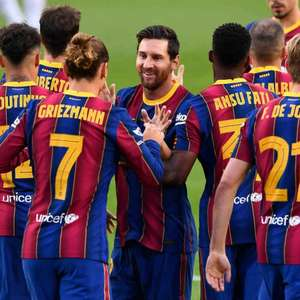 Barcelona volta à campo contra o Villarreal após vexame ...