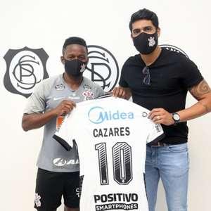 Chegou o 10! Corinthians anuncia a contratação de ...