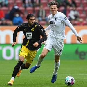 Dortmund decepciona, joga mal e perde para Augsburg fora ...