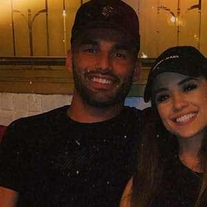 Volante do Fla, Thiago Maia reata namoro com cantora: 'Entrei sem imaginar que meus planos mudariam'