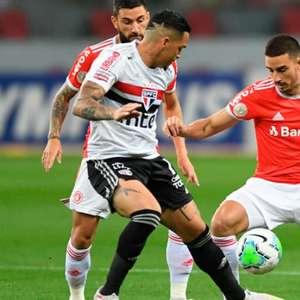 Em jogo truncado, Inter e São Paulo ficam no empate no ...