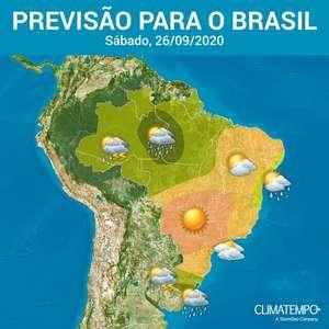 Calor aumenta no Brasil no primeiro fim de semana da ...