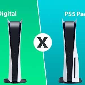 PlayStation 5 com disco ou Edição Digital; qual comprar?