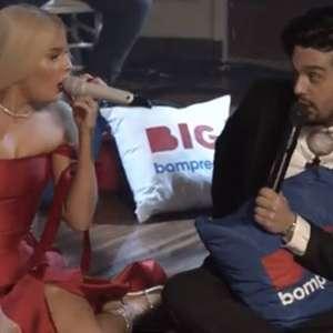 Luan Santana defende Luísa Sonza de haters durante live