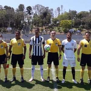 Corinthians empata com o Atlético-MG pelo Brasileirão sub-20