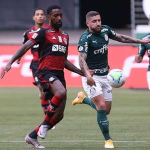 Em jogo quase não realizado, Flamengo e Palmeiras empatam