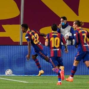 Ansu Fati brilha, Messi marca e Barcelona goleia Villarreal