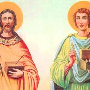 Simpatias e oração a São Cosme e São Damião