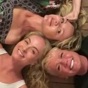 Xuxa, Angélica e Eliana se encontram: 'Todo mundo tá feliz'