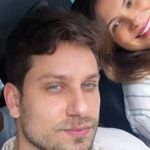 Kamilla Salgado e Eliéser beijam filho recém-nascido ao ...