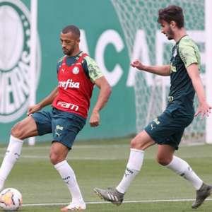 Com reservas, Palmeiras treina e vira a chave para ...