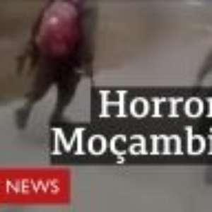 O chocante vídeo em que 4 homens espancam e matam mulher a tiros em Moçambique