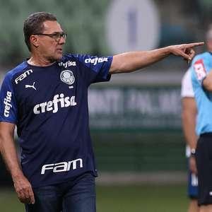 Luxa: Palmeiras tem de crescer para 'coisas mais difíceis'
