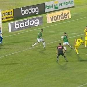 Guarani cede empate ao Sampaio Corrêa e entra na zona da ...