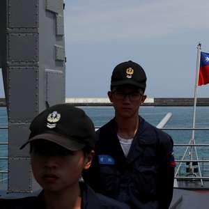 Chefe de defesa de Taiwan diz não ver sinais de que ...